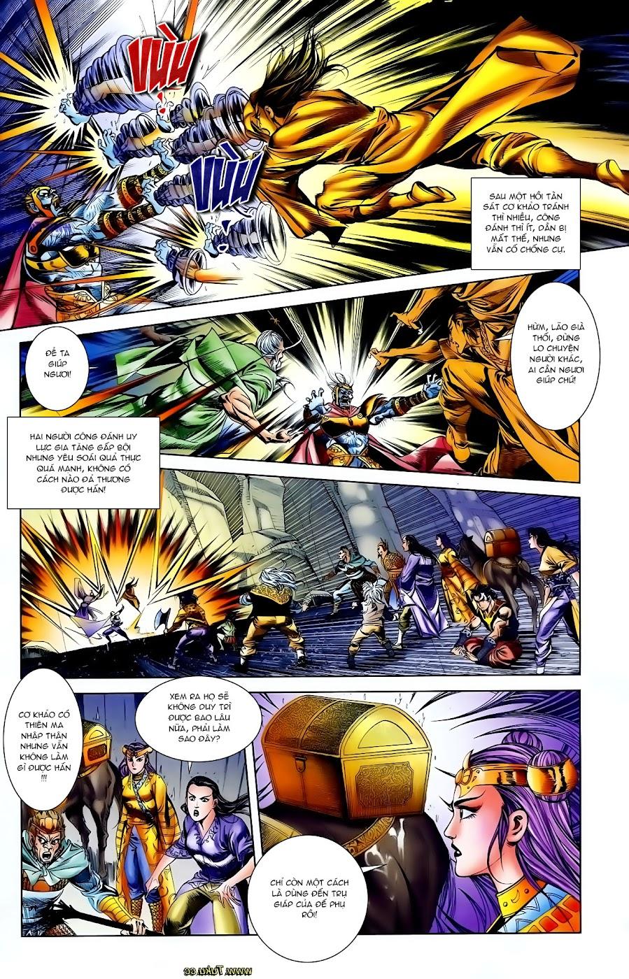 Cơ Phát Khai Chu Bản chapter 110 trang 21