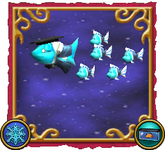 Wizard101 Fishing Dragonspyre Fish Ice School of Fish