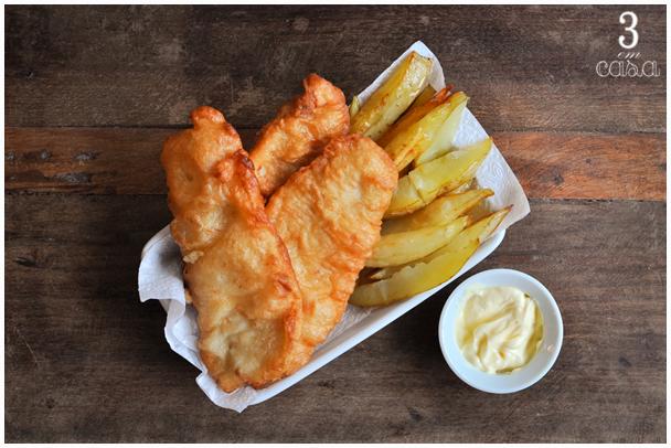 como fazer fish an chips