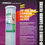 "PurePro® USA 20"" Big Blue Carbon Block Filter CTO  - PurePro CTO-204505"