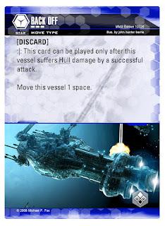 Dog Fight: Starship Edition Back Off