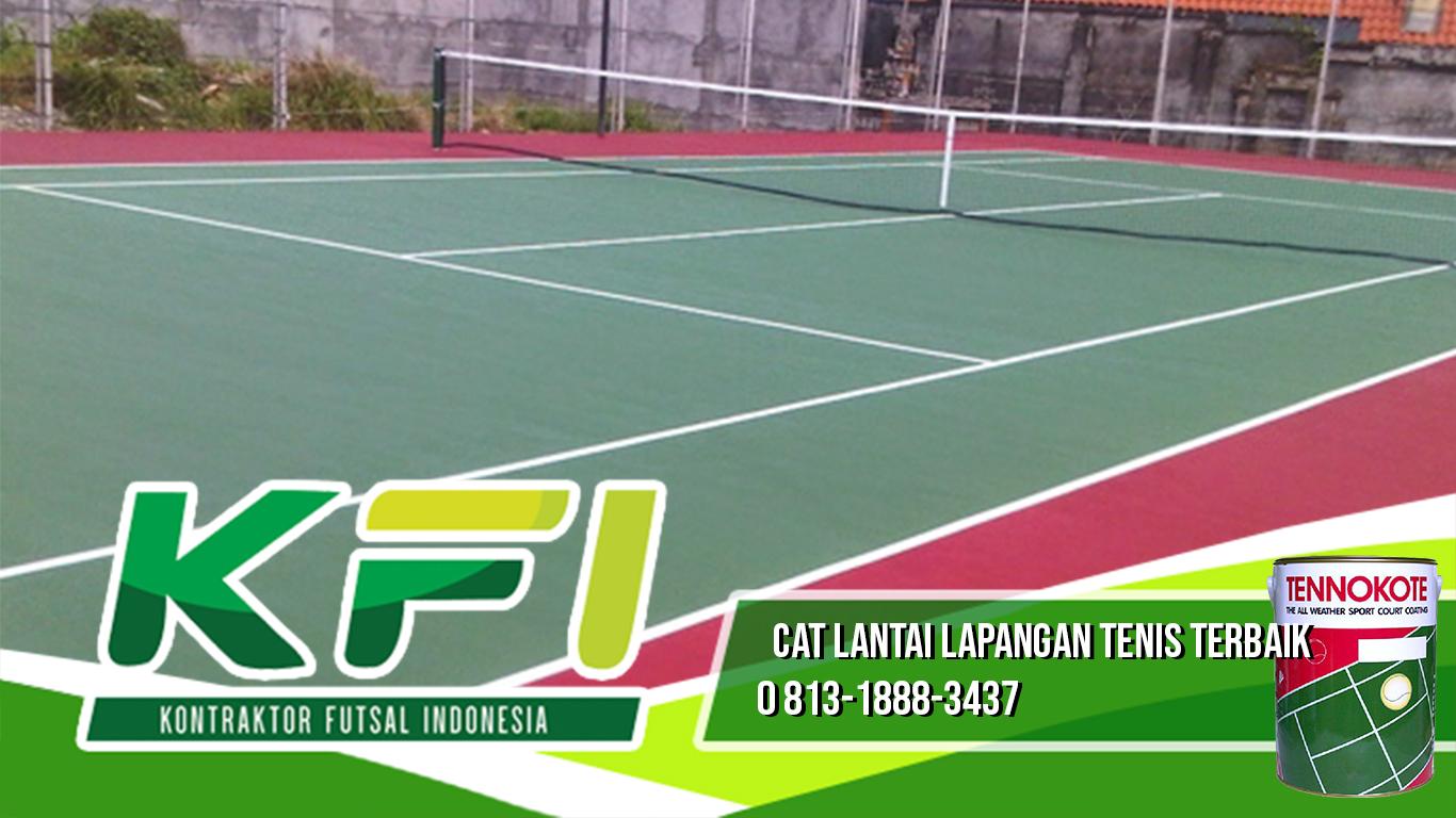 Cat Lantai Lapangan Tenis Terbaik