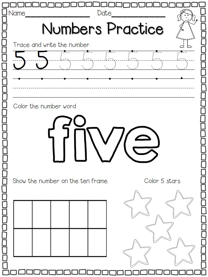 numbers practice freebie flying into first grade. Black Bedroom Furniture Sets. Home Design Ideas