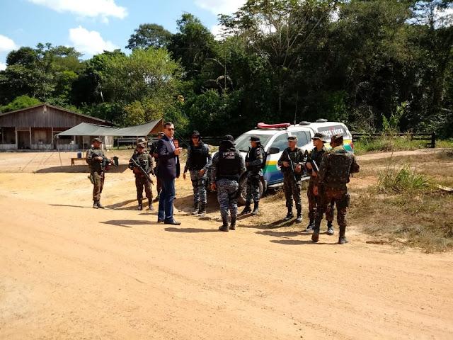 Cerca de R$ 30 mil, drogas e armas são apreendidas durante Operação Fronteira Mais Segura