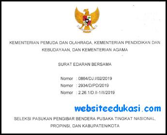 Seleksi Pasukan Pengibar Bendera Pusaka 2019