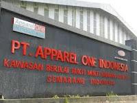 Lowongan Kerja Terbaru PT. Apparel One Indonesia Oktober 2017