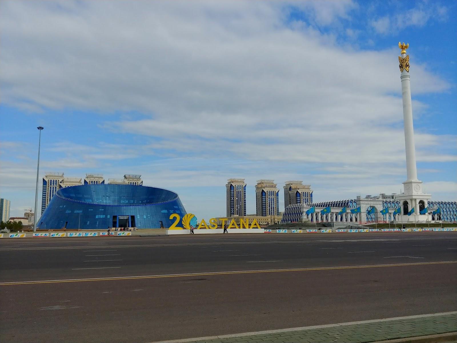 Astana budynki