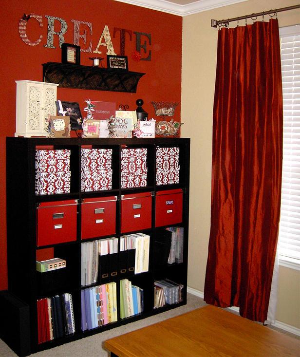 Storage Room Shelving Ideas: Flower Ali: Craft Room Storage Ideas