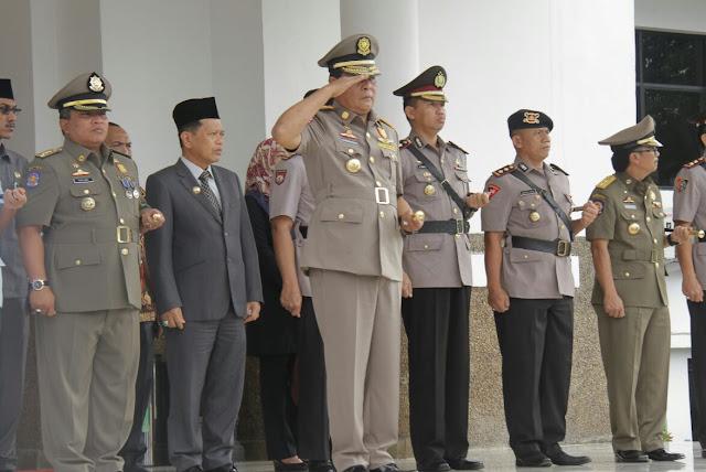 HUT Satpol PP Tahun 2018 Tingkat Nasional Akan Dilaksanakan di Kalsel
