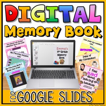 Digital Memory Book for Google Slides