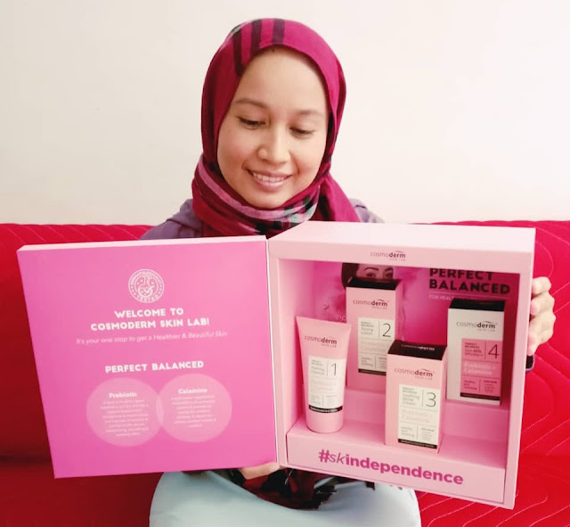 Perfect Balanced for Healthier and Beautiful Skin by Cosmoderm
