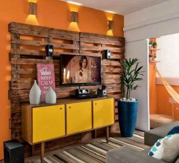 Unique Pallet Wood Wall Design 70 Ideas And Do It Yourself