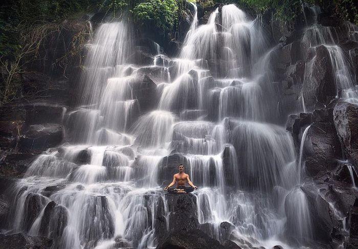 Keindahan Air terjun Kanto Lampo Gianyar Bali