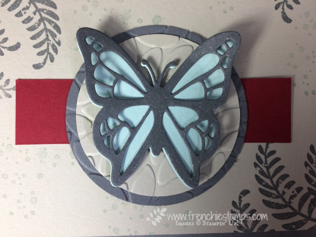 Awesomely Artistic, Move me Thinlits, Frenchie Color Challenge, Stampin'Up! Colors,