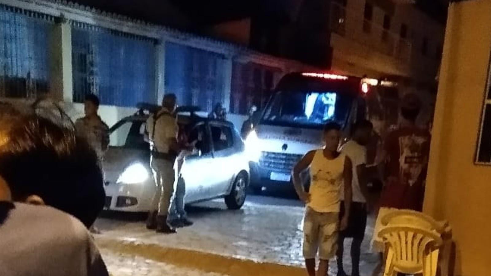 Três pessoas são baleadas no Bairro São Jorge, em Sr. do Bonfim