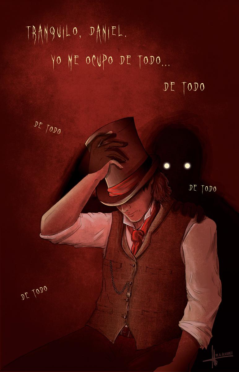 Ilustración El décimo paciente y otras historias de terror. M. A. Álvarez.