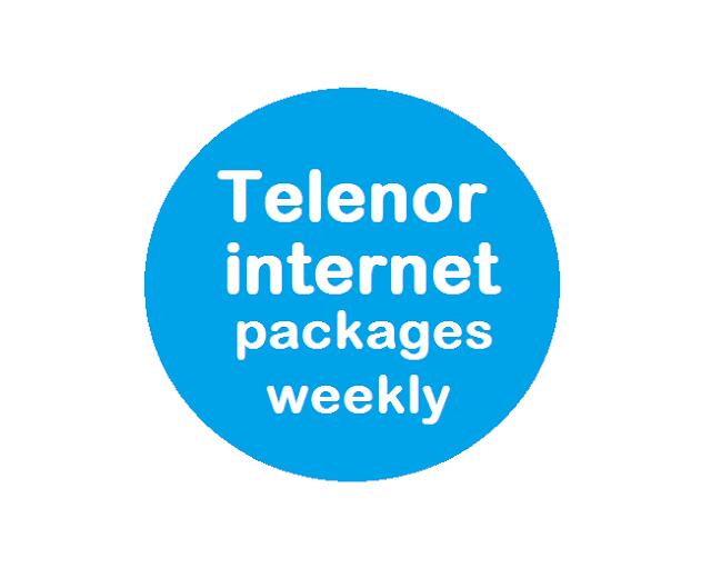 Telenor internet packages weekly