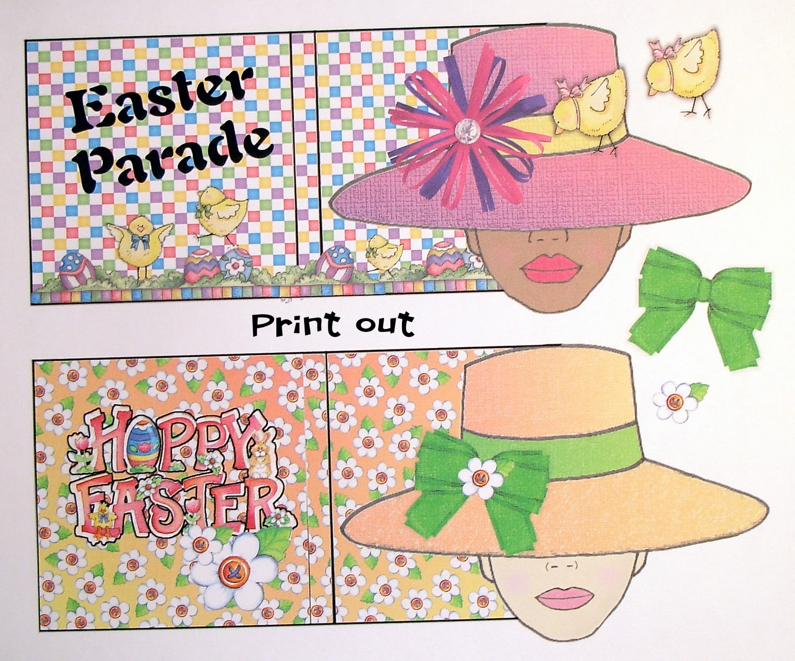 Easter bonnet printable templates 28 images 1000 for Easter bonnets templates