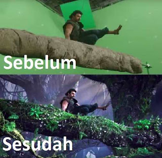 teknik green screen termudah