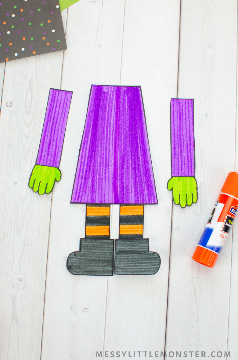 How to make Halloween paper crafts