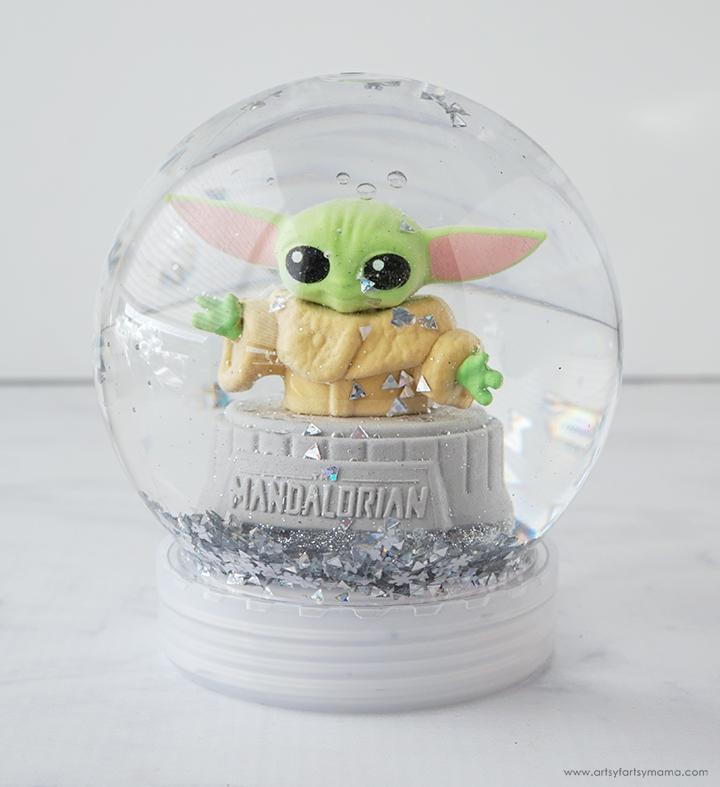 Baby Yoda Snow Globe