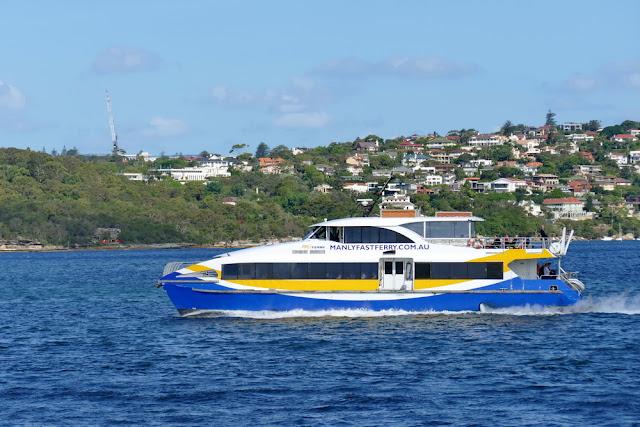 Manly, Ferry, Fähre, Manlyfastferry, Meer, überfahrt