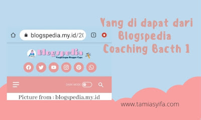 Materi kelas blogger batch1
