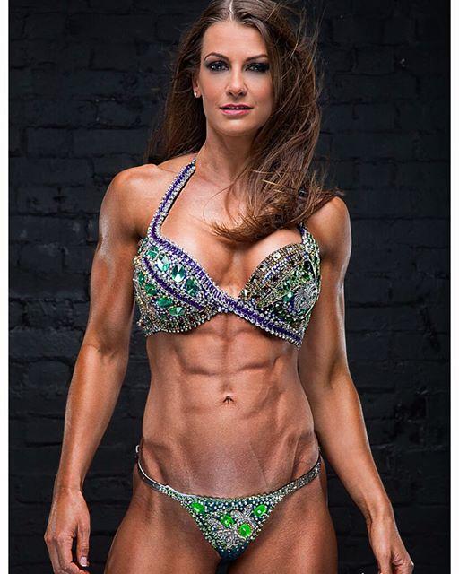 Fitness model JOHANNA HESS photoshoot