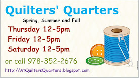 Quilters' Quarters Hours through December 2021