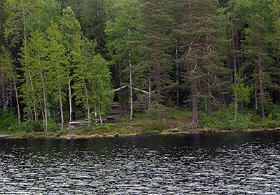 Inari, Laponia finlandesa. La cabaña del poeta