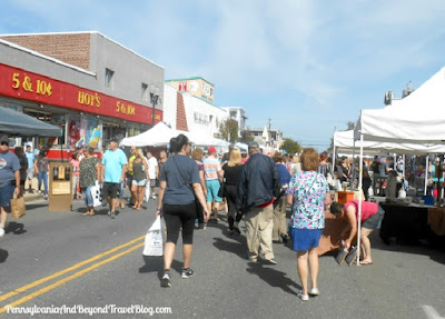 Columbus Day Street Fair in Ocean City New Jersey