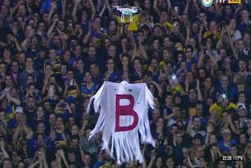 Video drone con el fantasma de la b en el supercl sico for La b b