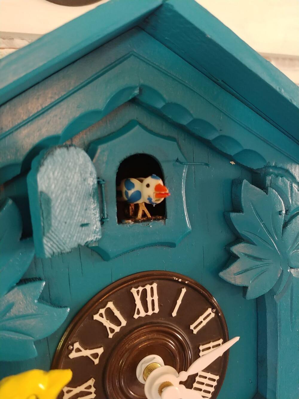 Upcycled Cuckoo Clock cuckoo bird