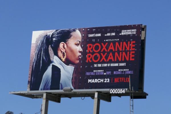 Roxanne Roxanne film billboard