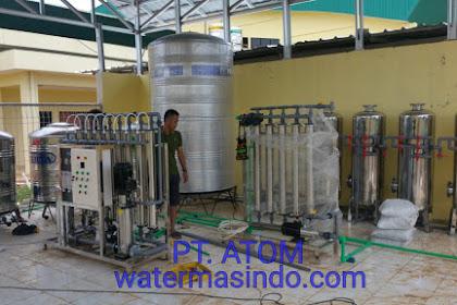 RO dan Ultra filtrasi Kapasitas 3 Ton / Jam