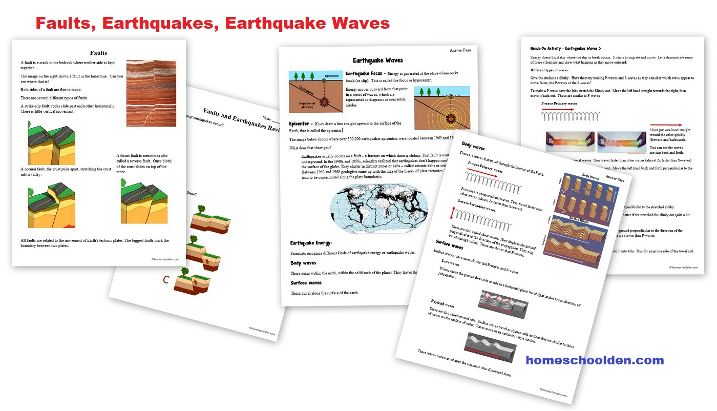 The Homeschool Den Earth Science Layers Of The Earth Hands On Activity