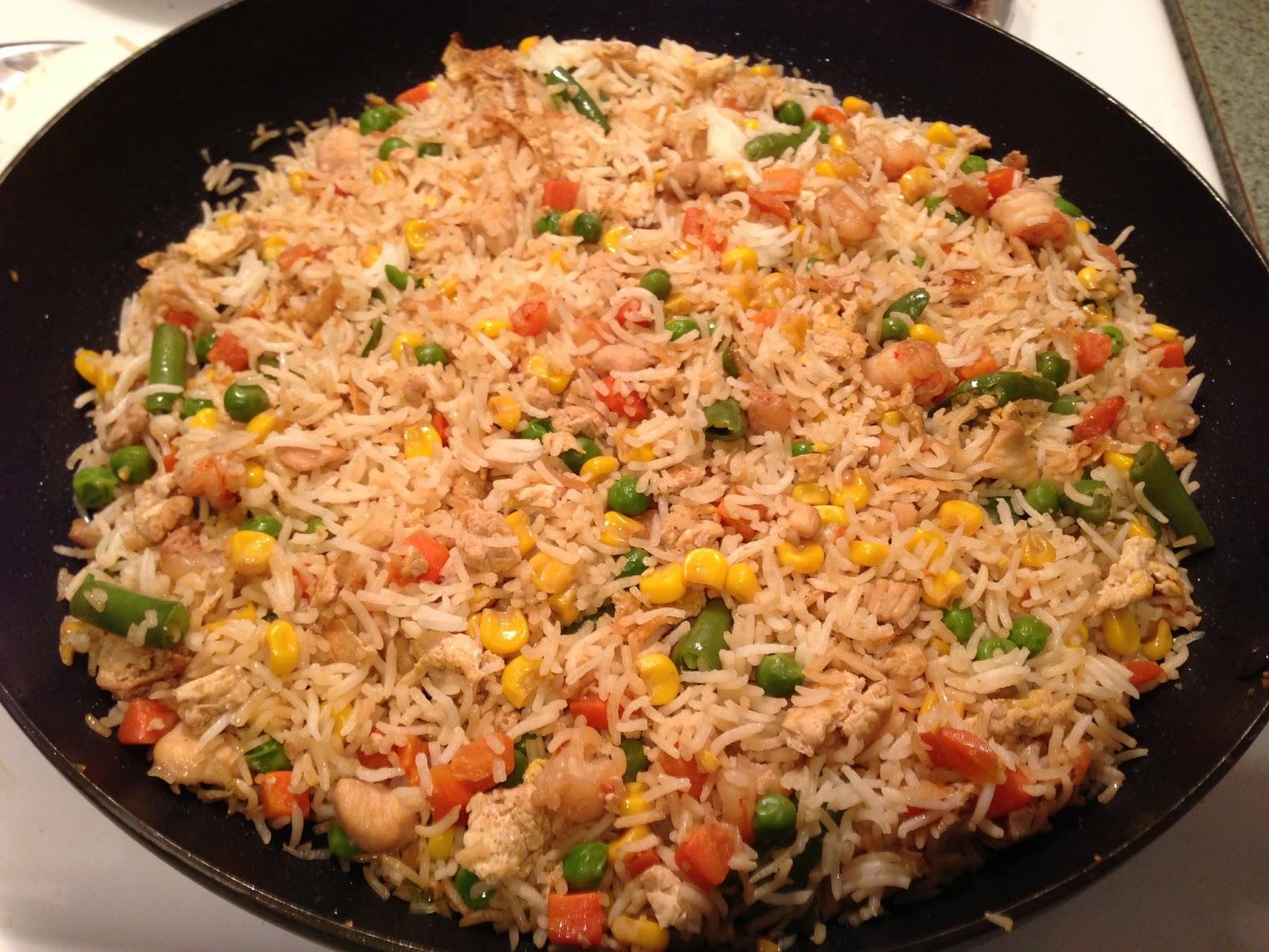 Chinese Chicken Fried Rice II Recipe — Dishmaps