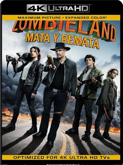 Zombieland: Mata y remata (2019) 4K 2160p UHD [HDR] Latino [GoogleDrive]