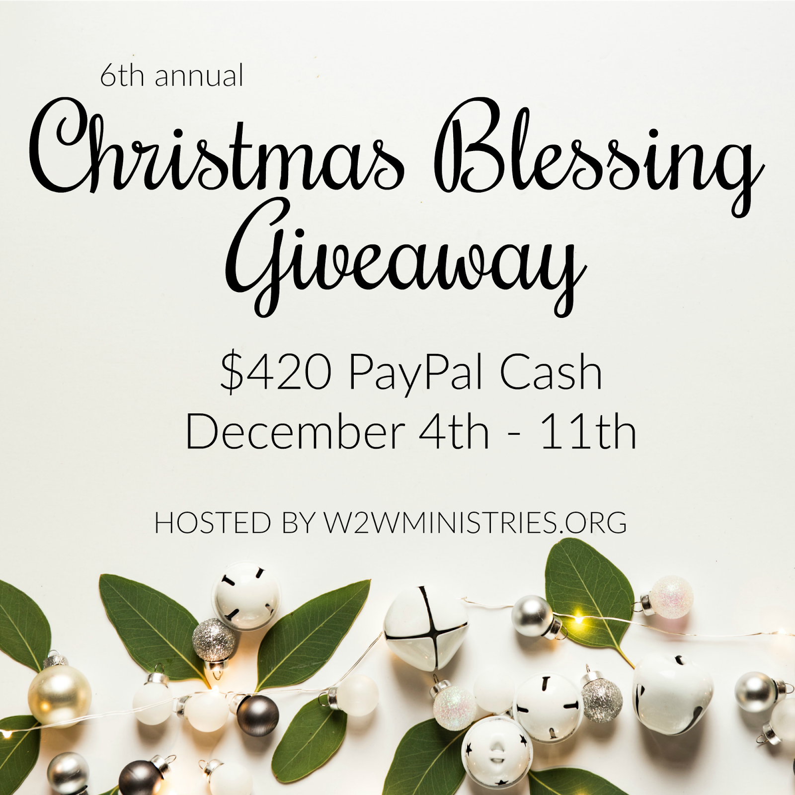 Just following Jesus in my real life...: Christmas Blessing Giveaway ...
