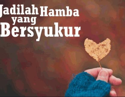 Cara Menanamkan Rasa Syukur dalam Diri