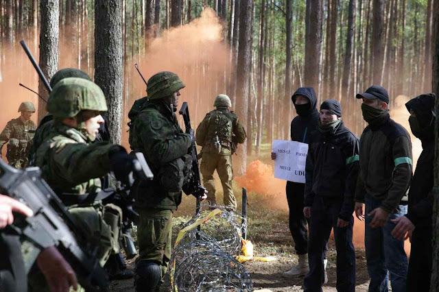 Lituanos treinam para lances inusitados de 'guerra híbrida'