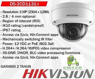 IP Camera HIKVISION DS-2CD1131-I 2.8MM