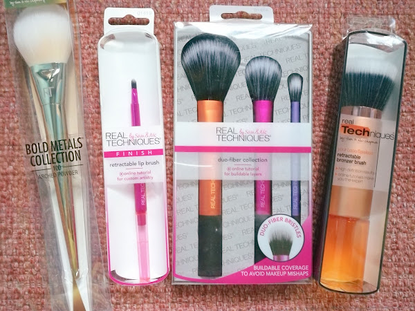 Shopping for Real Techniques brushes from Sephora