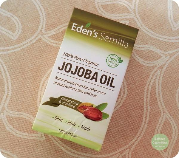 Aceite de jojoba de Eden's Semilla review