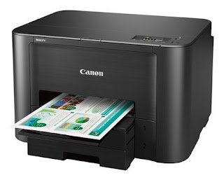 printer is a wireless for modest house of operate printer is speedy as well as sensible Canon Maxify iB4120 Driver Download