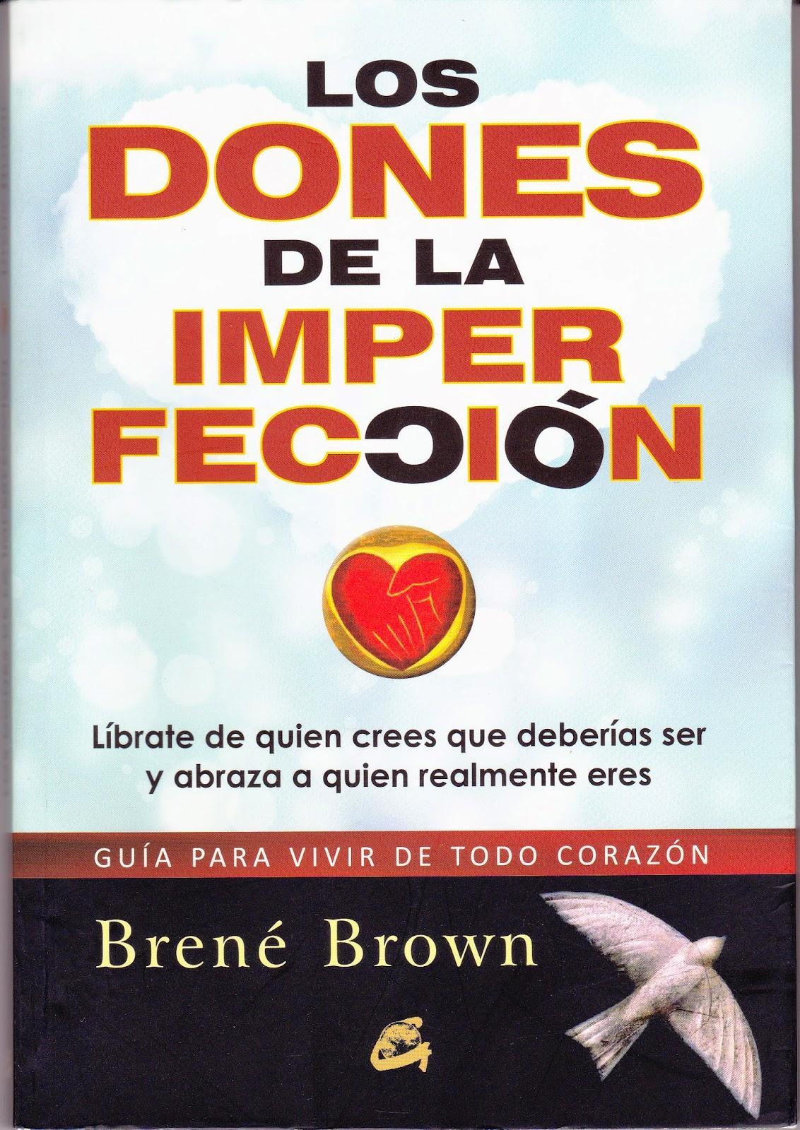 libro los dones de la imperfeccion