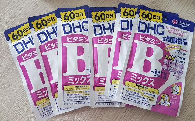 Viên uống Vitamin nhóm B, DHC, Hàng Nhật
