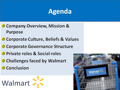 wal mart claim learn with company governance