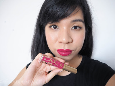 Too Faced Melted Matte Liquified Long Wear Matte Lipstick in Bend and Snap!