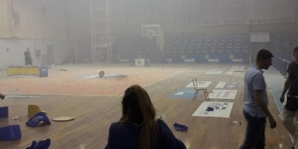 Βίντεο-σοκ αγρίμια προκάλεσαν επεισόδια σε αγώνα μπάσκετ στο Μαρκόπουλο!